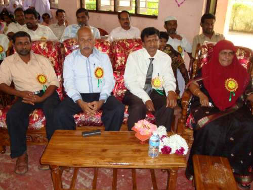 Zonal Director of Education (Muthur), Member of Provincial Council (Eastern Province) were the Guest at the Grade -5 Scholarship Felicitating Ceremony - 2010.